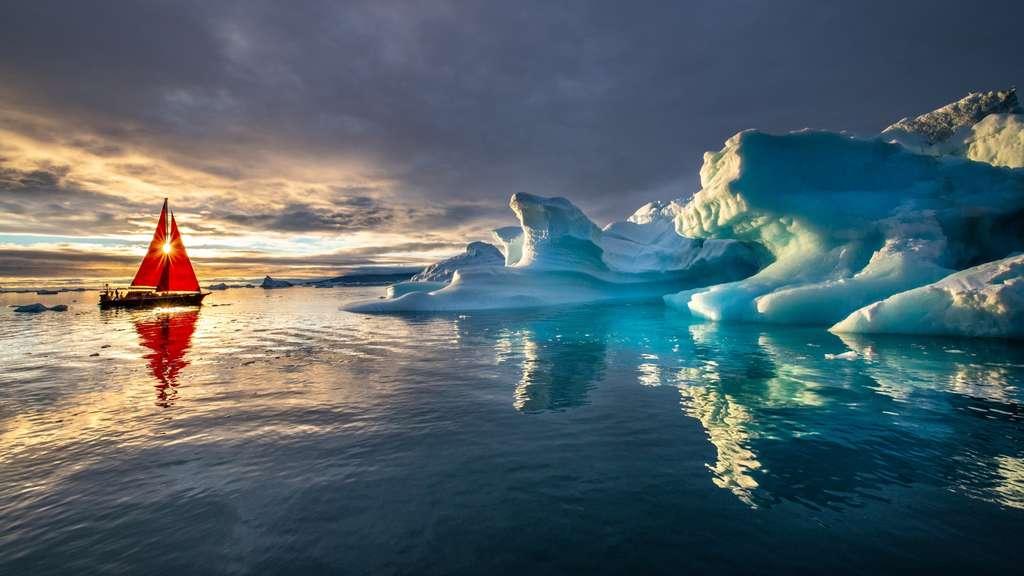 La fonte de la calotte glaciaire au Groenland semble avoir atteint un point de non-retour. © Marc Pelissier, Adobe Stock