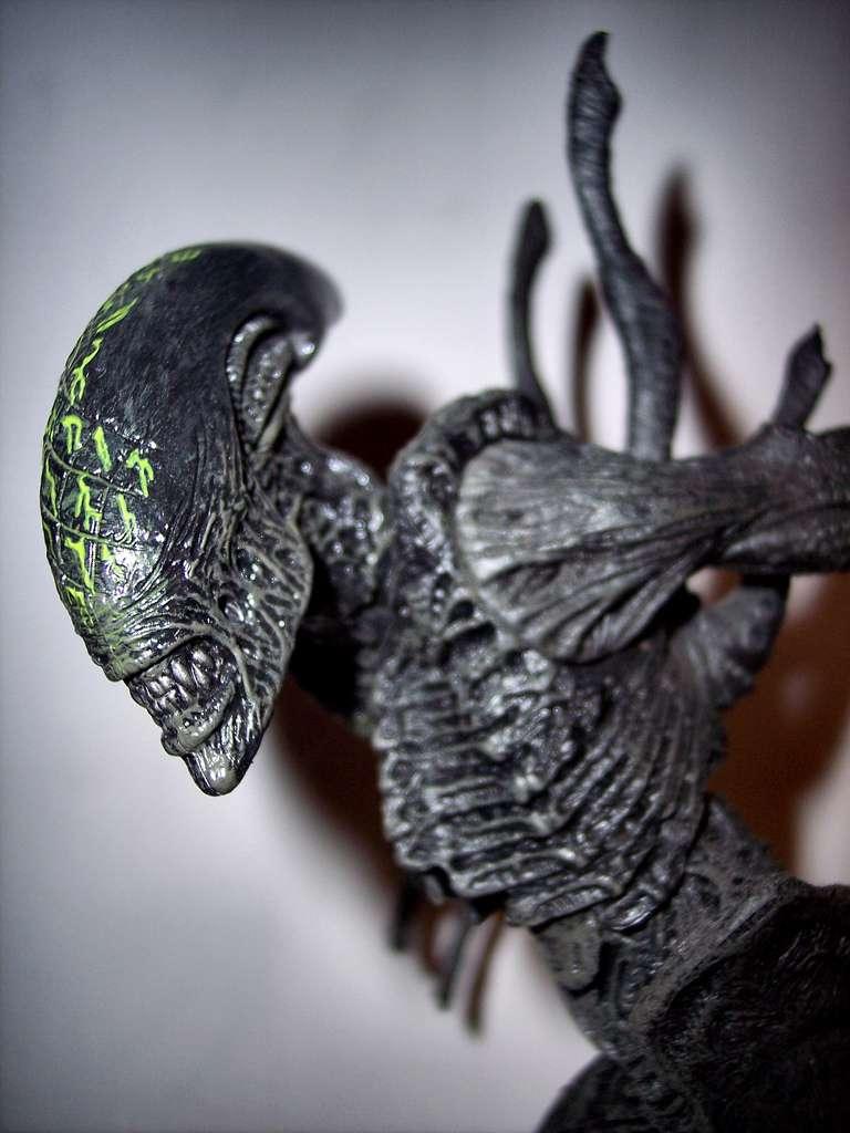 Le monstre extraterrestre du film Alien termine au pied du podium des films d'horreur les plus terrifiants. Il permet la dépense de 152 kcal. © Tom Lee KelSo, Flickr, cc by nc nd 2.0