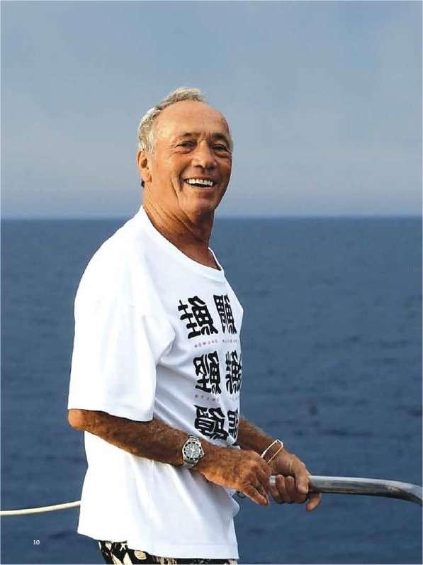 Henri Delauze, un autre explorateur de l'océan. Il a fondé la Comex pour mettre au point des techniques de plongée à grande profondeur. © Comex Magazine n° 11 (numéro spécial pour les 50 ans de l'entreprise)