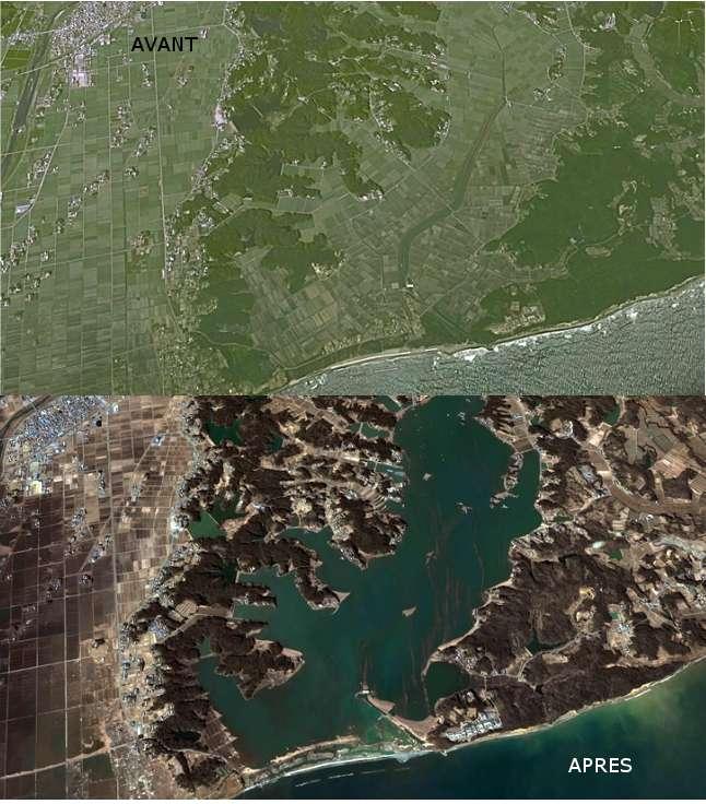 Kashima, ville dévastée par le tsunami japonais