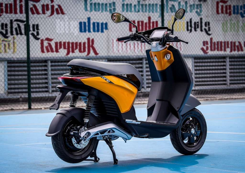 Scooter électrique Piaggio One. © Piaggio