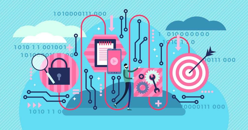 Google a annoncé en 2019 avoir atteint la suprématie quantique avec un ordinateur doté de 53 qubits. © VectorMine, Adobe Stock