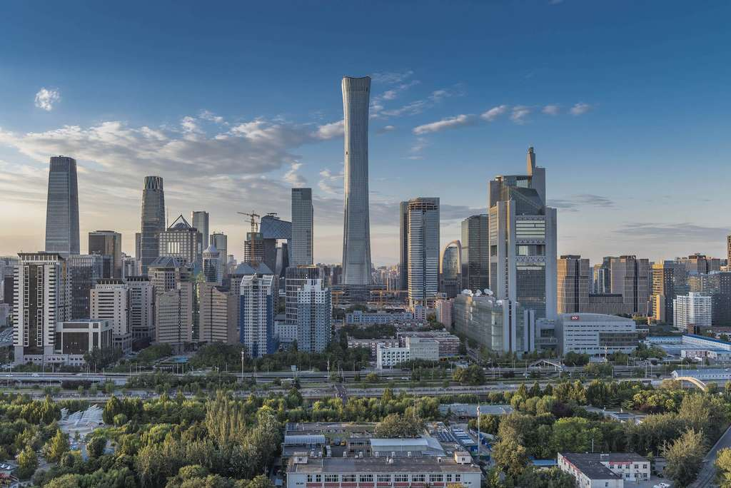La Citic Tower à Pékin. © Citic Heye Investment