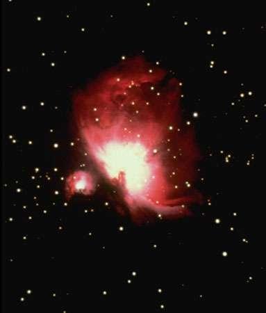 La grande nébuleuse d'Orion. © CNRS - Reproduction et utilisation interdites