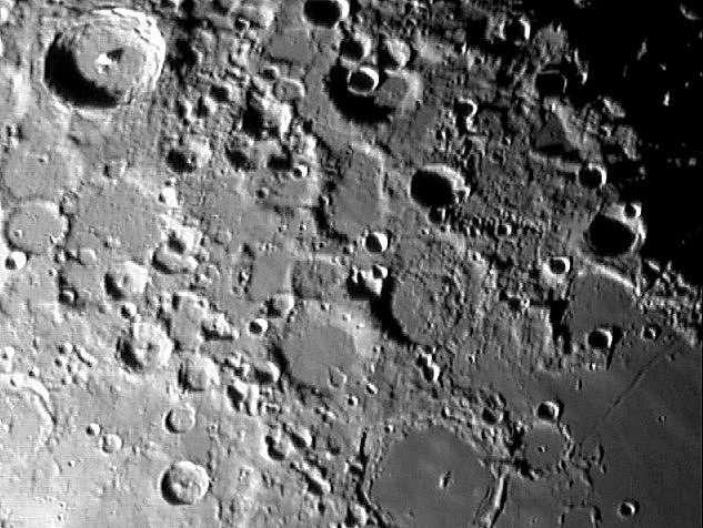 La Lune - Région de Tycho