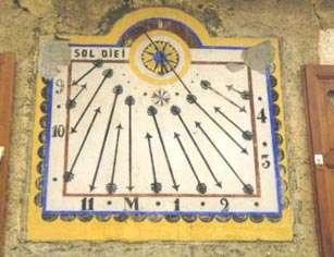 Pour construire un cadran solaire, mieux vaut connaître l'heure légale correspondant au midi vrai de l'endroit où l'instrument est installé. © DR