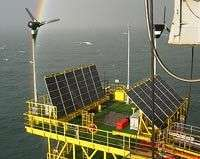 La plateforme pétrolière Trident Monotower