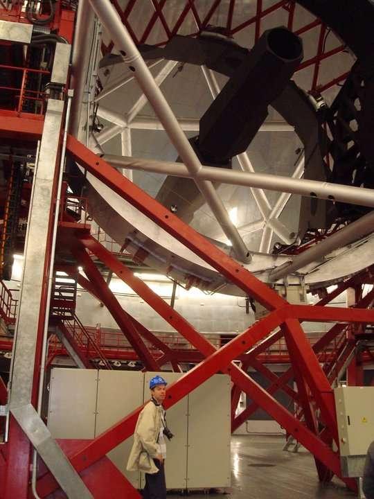 Le Gran Tecan, le Grand Télescope des îles Canaries