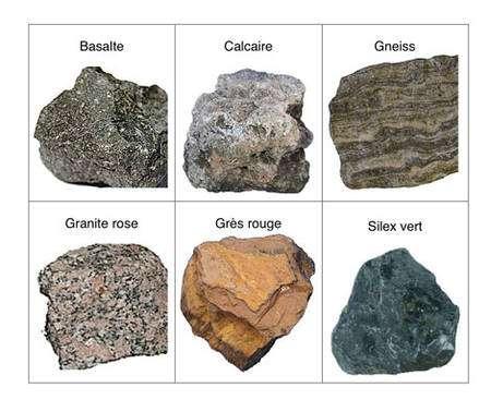 Quelques exemples de roches utilisées en construction