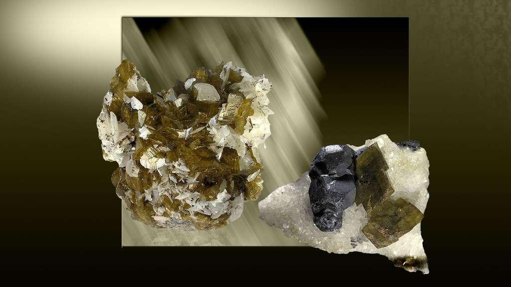 La sidérite, un minéral associé à du magnésium