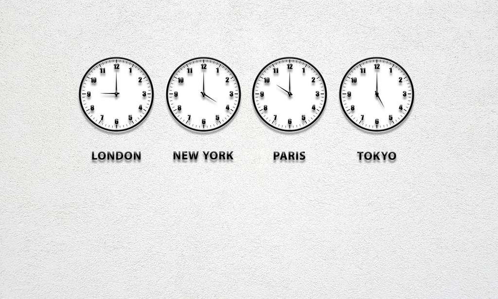 Certains fuseaux horaires dérogent à la règle de base des 15 degrés longitudinaux. © TheDigitalArtist by Pixabay