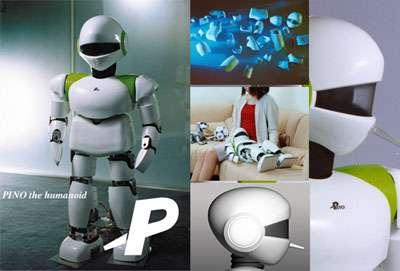 La plateforme Pino est une source publique d'informations sur la robotique. © Robot Pino (Symbiotic Systems Project)