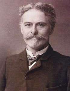 Edward Drinker Cope (1840-1897), le paléontologue américain fut le premier à décrire (sous le nom de Diatryma) des restes de Gastornis provenant d'Amérique du Nord. © DR