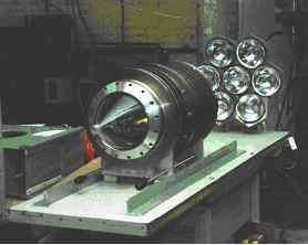 Fig 2 : Prototype de générateur 50kW en montage