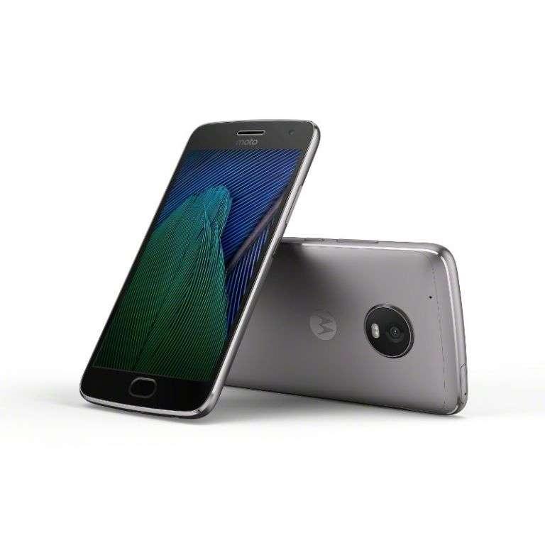 Le Lenovo Moto G5 Plus sera disponible en avril pour 300 euros avec un système de charge rapide. © Lenovo