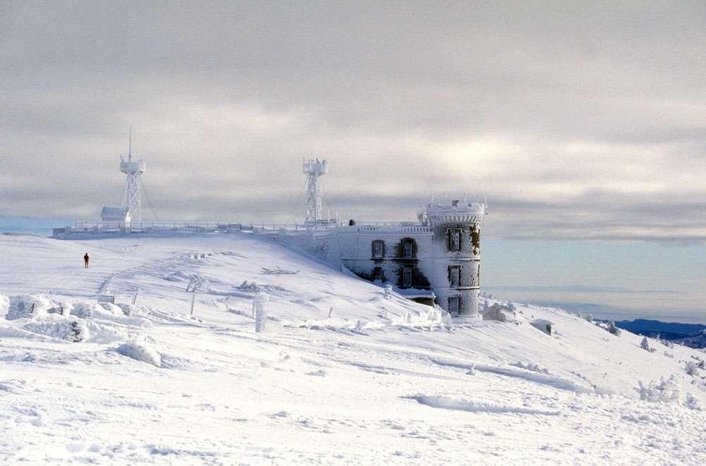 Observatoire de l'Aigoual. © Max Guitare, Flickr, CC by-nc 2.0