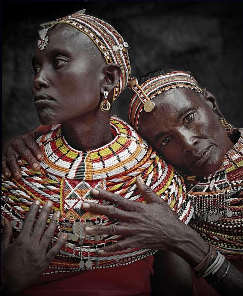 Les Samburus - Kenya