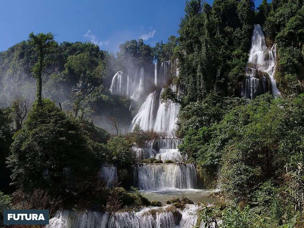 Cascade Thi Lo Su, Thailand
