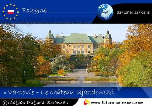 Varsovie capitale de la Pologne