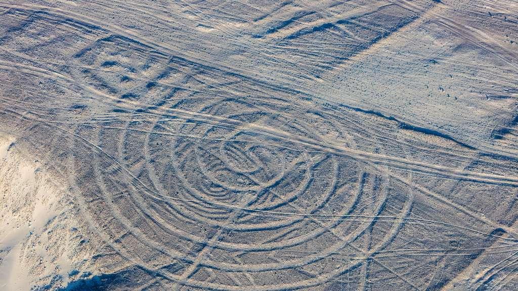 Les célébrissimes lignes de Nazca