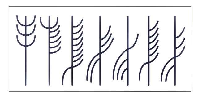 Symboles employés par le code de Jötunvillur © Éditions Flammarion