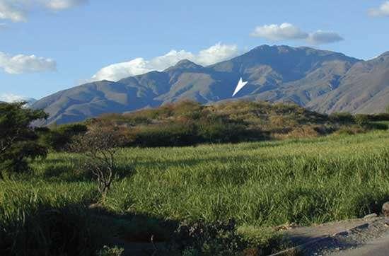Fig.2 : vue de la vallée de Catamayo (province de Loja, Equateur) © J. Guffroy IRD