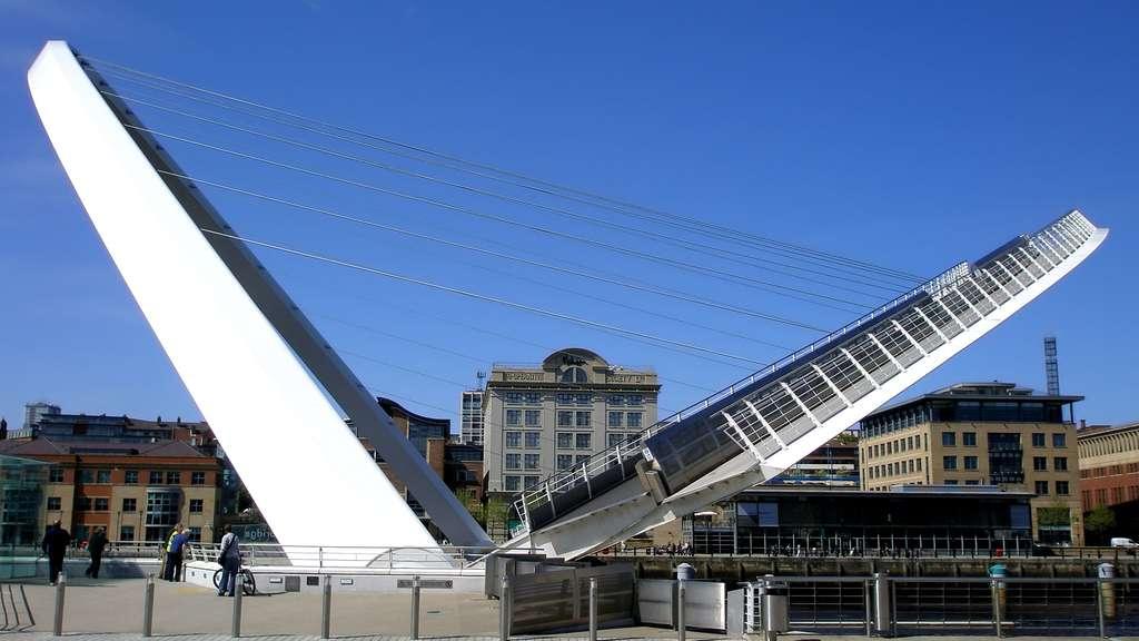 Le pont du Millenium de Gateshead, un pont basculant