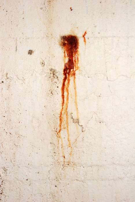 Les traces de sang sur une scène de crime sont de vrais indices. © Bjorgvin Gudmundsson, Stockvault