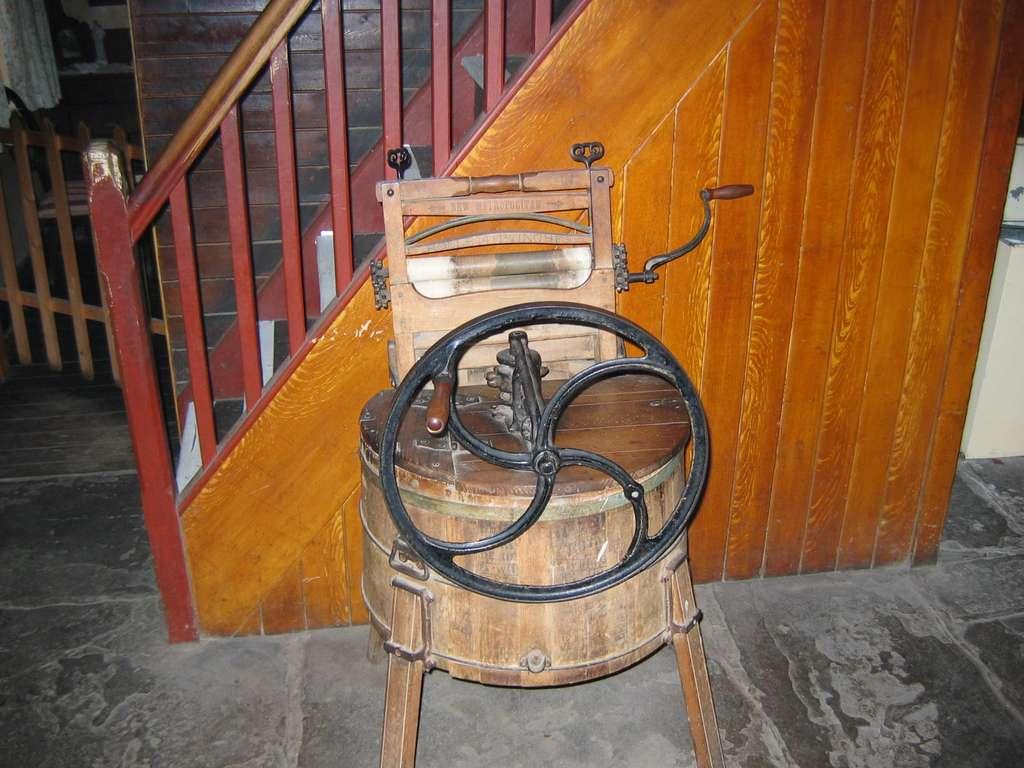 Une machine à laver zéro carbone du XIXe siècle. © Itub, Flickr CC by-nc-sa 3.0