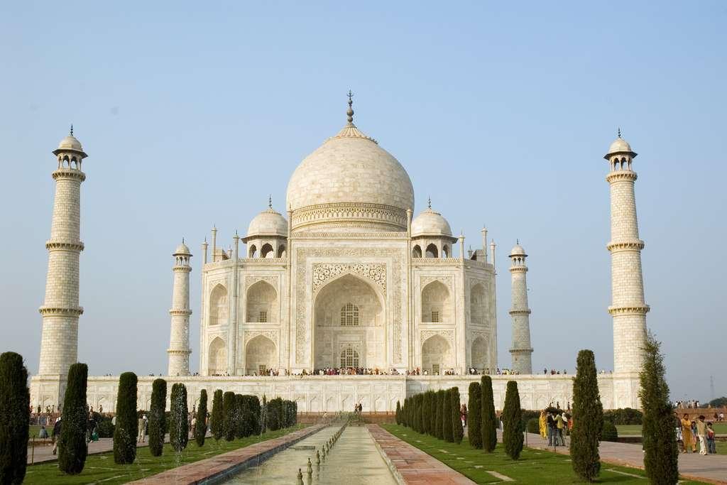 Le Taj Mahal en Inde. © Paul Asman et Jill Lenoble, Flickr