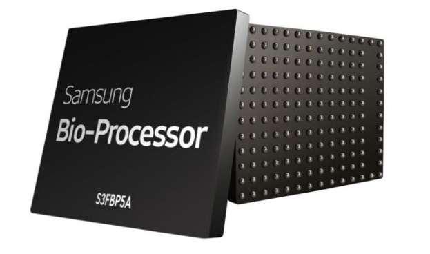 Le Bio-Processor de Samsung cumule sur une seule puce plusieurs capteurs dont il peut analyser les données sans recourir à un appareil externe. © Samsung