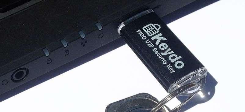 Les clés USB compatibles FIDO U2F s'achètent sur Internet ou en magasin pour des tarifs allant de 6 à 15 euros. © Neowave