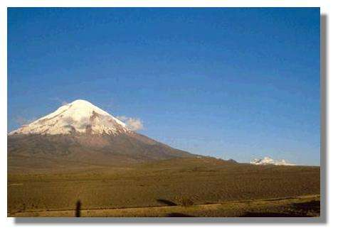 Le volcan Cotopaxi, Equateur © IRD/Michel Portais