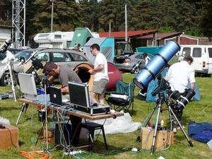 Les Rencontres Astronomiques de Printemps sont devenues incontournables pour les passionnés. Crédit J-B Feldmann