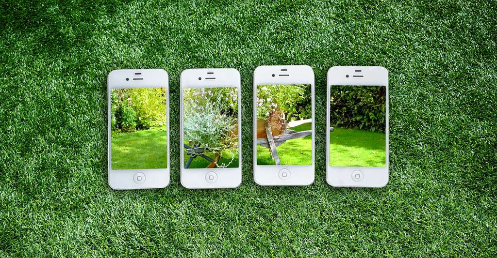 Jardin et internet des applications pour mieux le gérer. © TeroVesalainen- CCO