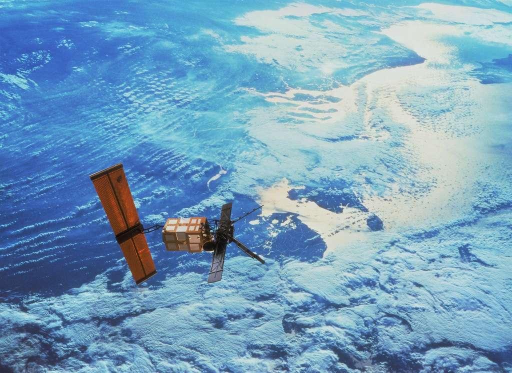 Depuis seize ans ERS-2 surveille la Terre et a fourni des données remarquables sur l'état de la planète et la machine climatique. © Esa