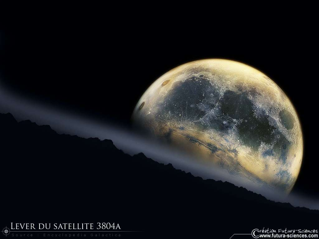 Lever du satellite 3804A
