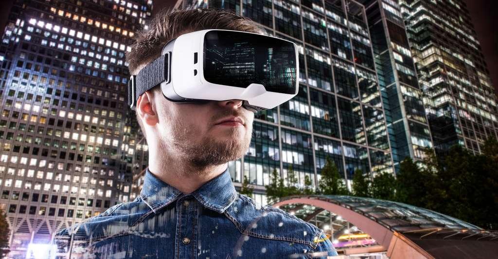 Voir le monde en 3D. © Halfpoint Shutterstock