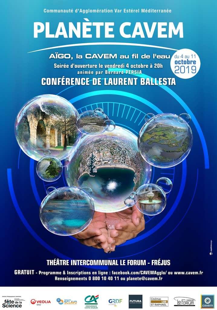 L'évènement Planète CAVEM revient cette année du 4 au 11 octobre pour une quatrième édition, centrée sur le thème de l'eau. © CAVEM