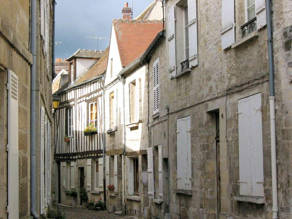 Ruelles de Senlis, caractéristiques de la ville. © Pierre Metivier-Flickr CC by nc 2.0