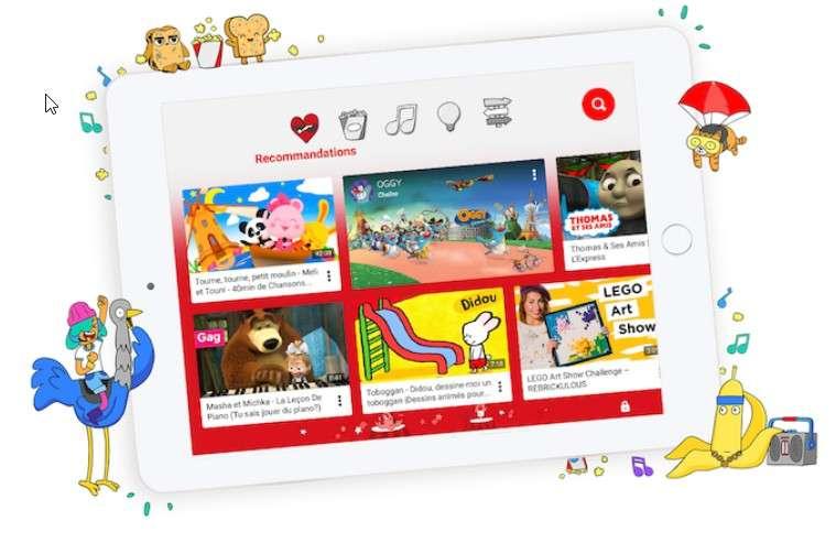 Installer YouTube Kids. © YouTube Kids