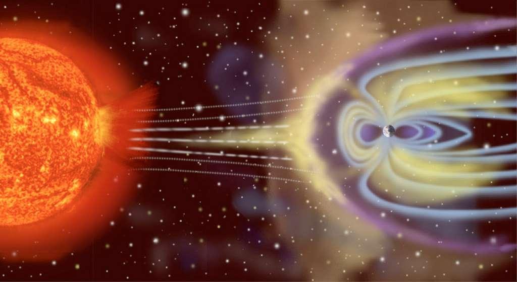 Actuellement, le Soleil est dans une période de pic d'activité, qui se produit généralement tous les 11 ans. Pour ces prochaines années, les astronomes s'attendent à des sursauts d'activités potentiellement dangereux pour les astronautes. © Esa