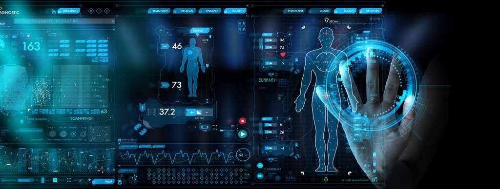 Et l'humain créa son avatar numérique sur lequel il sera possible des tester des médicaments ou simuler sur un ordinateur la façon dont ils interagissent avec cette machine complexe qu'est le corps humain. © Greenbutterfly, Adobe Stock