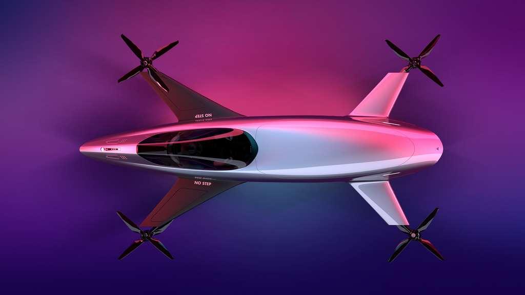 Airspeeder Mk3. © Alauda Airspeeder