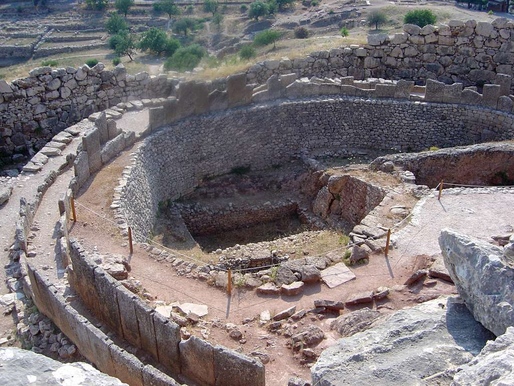 Ruines à Mycènes. © Monniaux, GNU 1.2