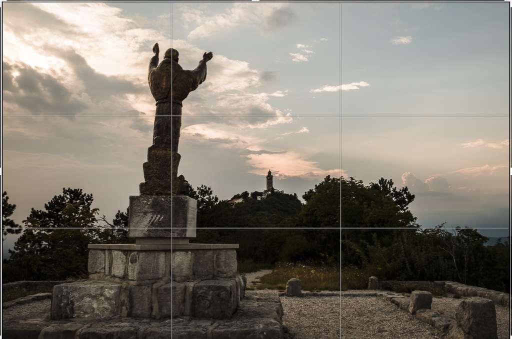 Centrer le sujet n'est pas forcément un choix judicieux mais c'est généralement le premier réflexe du débutant en photographie. © JMR, Futura