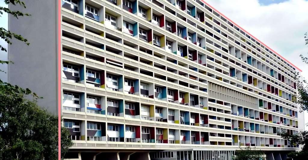 Construction Le Corbusier à Berlin. © Manfred Brückels, CC by-sa 3.0