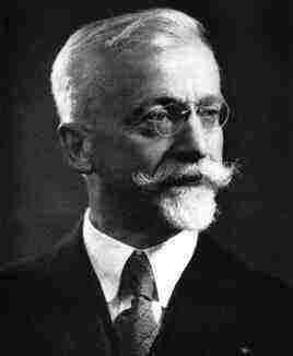 Le génial mathématicien Elie Cartan.