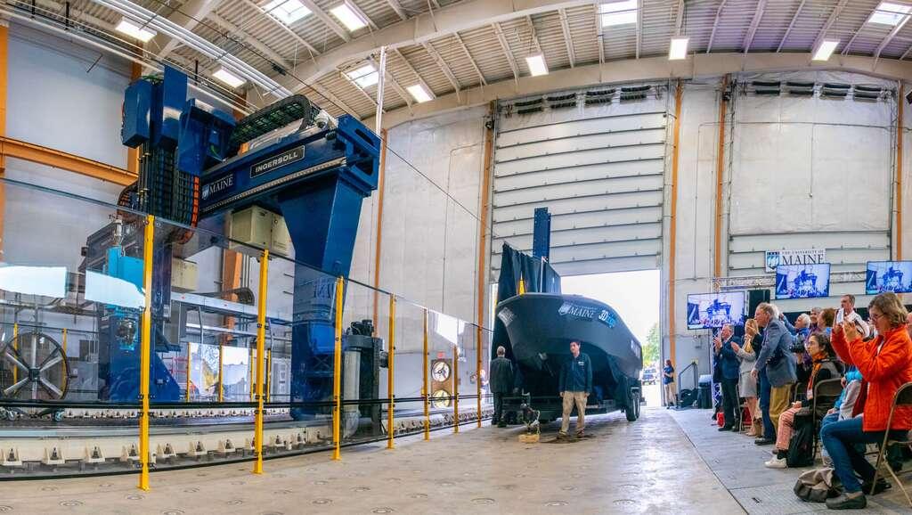 L'utilisation de matériaux biosourcés pour l'impression 3D permet de réduire les coûts de 50 % et le bilan carbone de 90 %. © Université du Maine