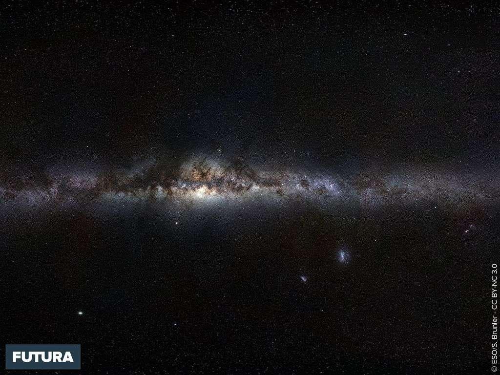 Voie lactée vue depuis la Terre